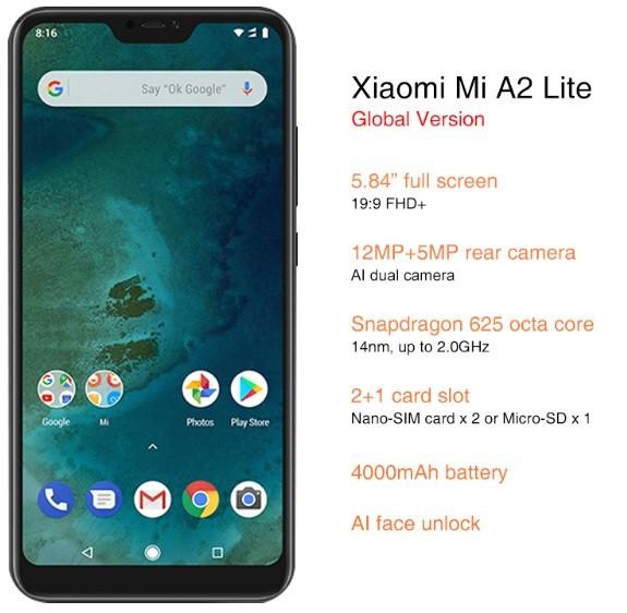 отзывы о Xiaomi Mi A2 Lite