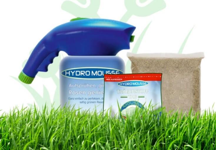 Жидкий газон hydro mousse фото